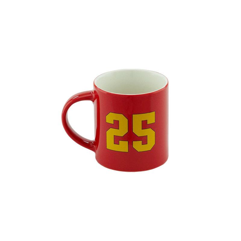Topfanz Tasse rouge logo 25