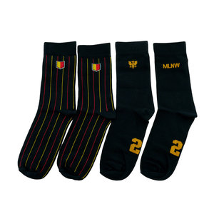 Socks duopack casual black