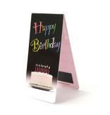Marque-page magnétique, joyeux anniversaire avec un gâteau