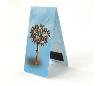 Magnetic Bookmark, Tree with butterflies