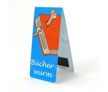 Magnetic Bookmark, Bucherwurm