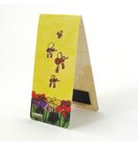 Marcador magnético, abejas