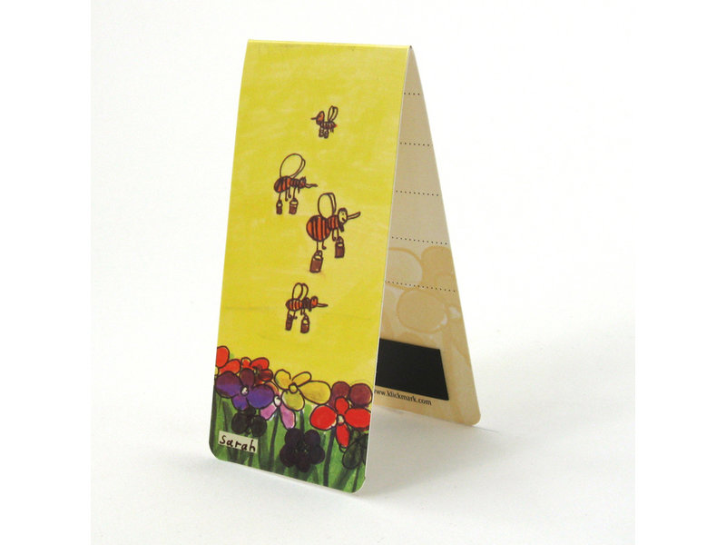 Magnetic Bookmark, Bees