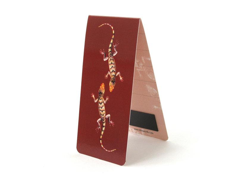 Magnetic Bookmark, Lizards