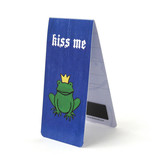 Magnetic Bookmark, Kiss Me ,Frog