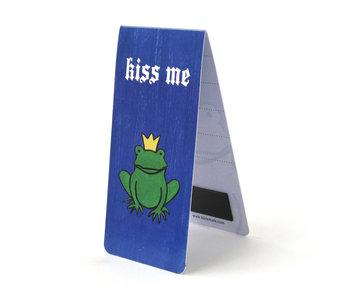 Magnetische Boekenlegger, Kiss me ,Kikker