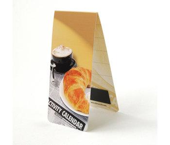 Magnetic Bookmark, Breakfast , Croissant