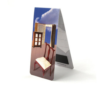 Signet magnétique, livre, illustration