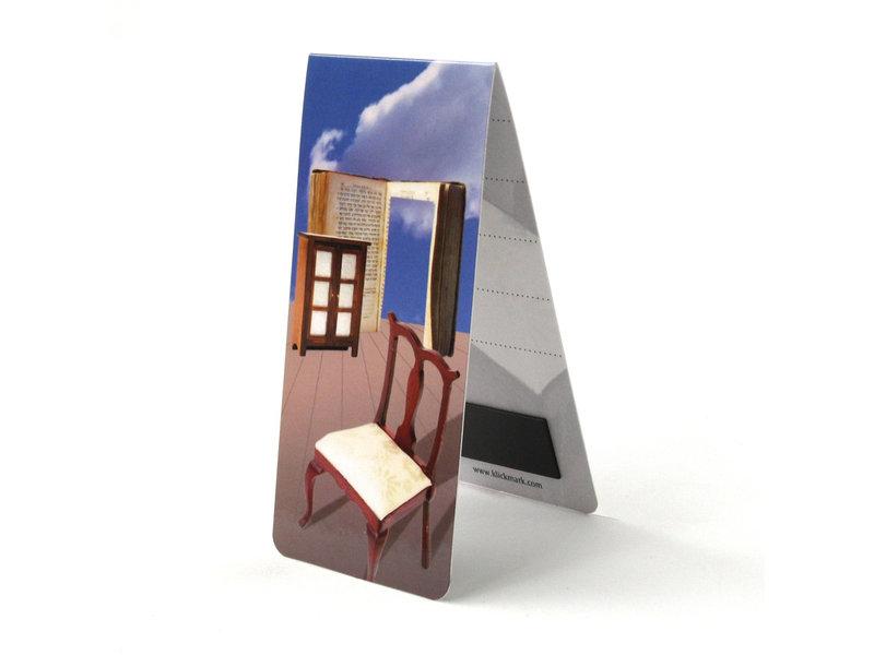 Magnetisches Lesezeichen, Buch, Illustration