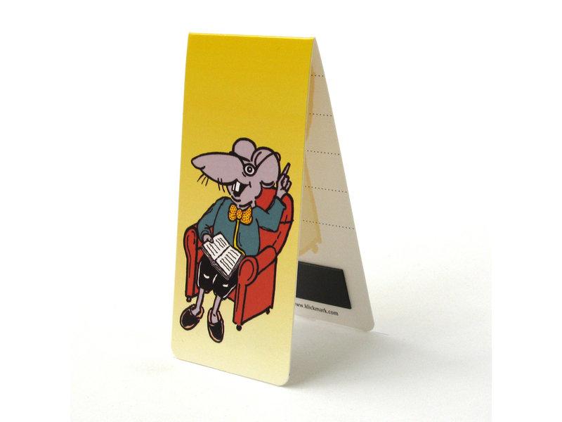 Signet magnétique, rat de lecture