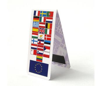 Marcador magnético, bandera de la UE, Europa