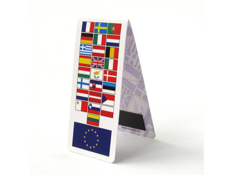 Magnetische Boekenlegger, EU Vlag, Europa