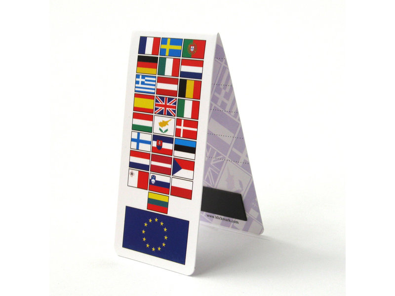 Magnetisches Lesezeichen, EU-Flagge, Europa