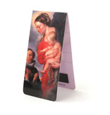 Magnetic Bookmark, Virgin with child