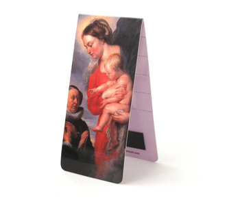 Marque-page magnétique, Vierge à l'enfant