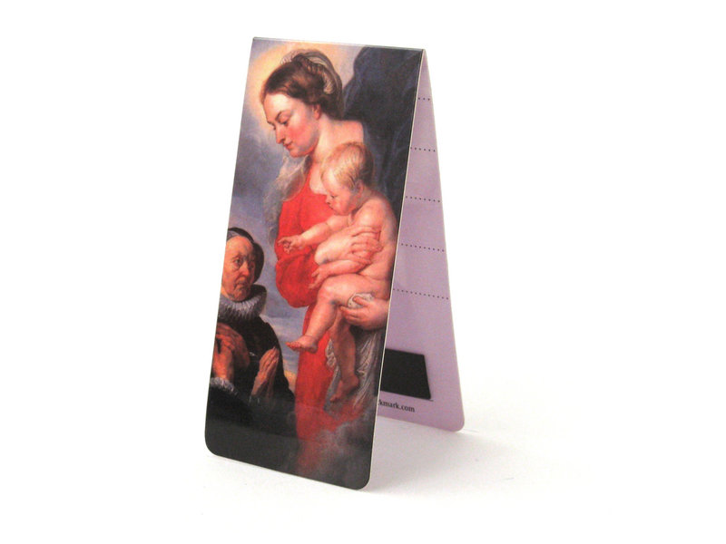 Magnetisches Lesezeichen, Jungfrau mit Kind