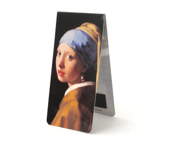 Magnetic Bookmark, J. Vermeer, Girl with a Pearl Earring