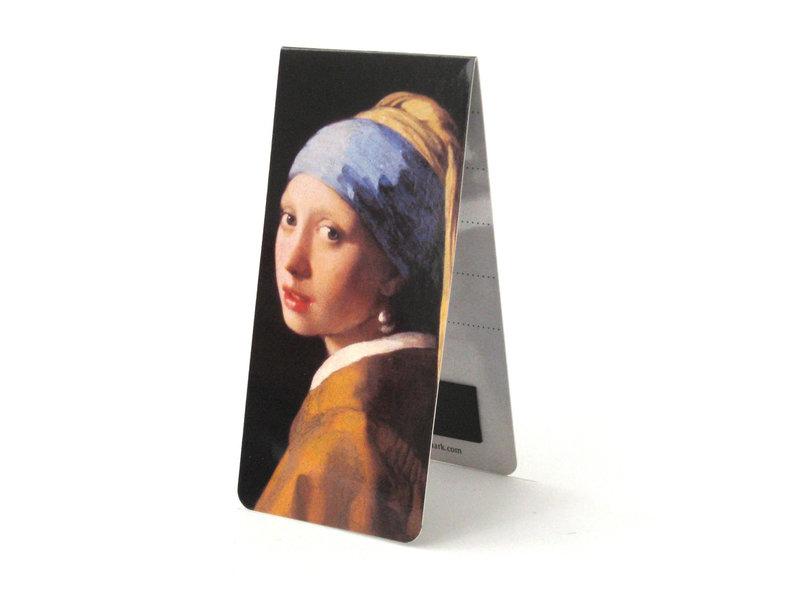 Magnetic Bookmark, J. Vermeer, Girl with a Pearl Earring