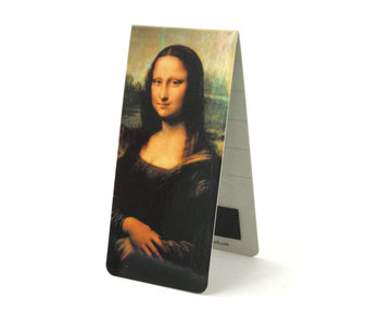 Magnetic Bookmark, Leonardo da Vinci, Mona Lisa