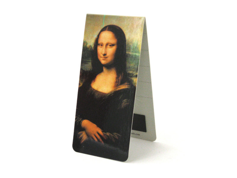 Magnetic Bookmark, Leonardo da Vinci, Mona Lisa