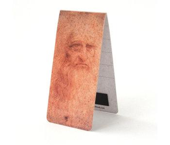 Magnetic Bookmark, Leonardo da Vinci, Self-portrait
