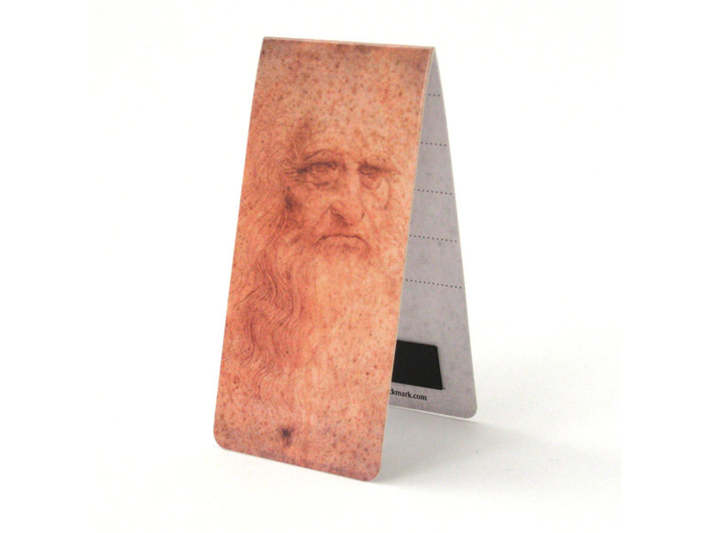 Magnetische Boekenlegger, Da Vinci, Zelfportret