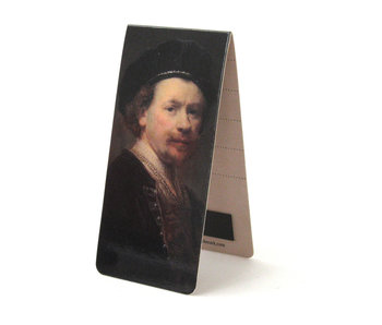 Marque-page magnétique, Rembrandt, Autoportrait