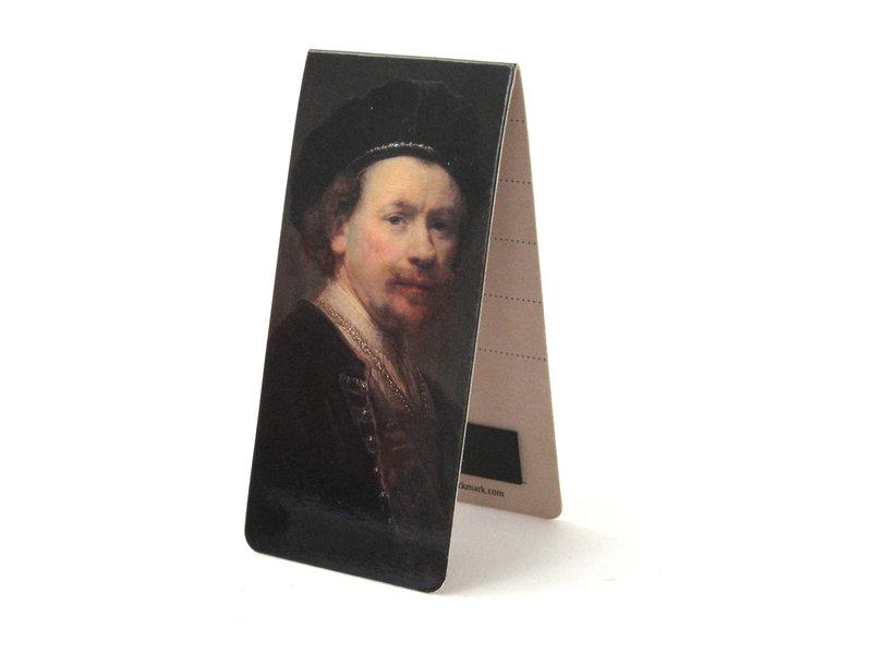 Magnetic Bookmark, Rembrandt, Self-portrait
