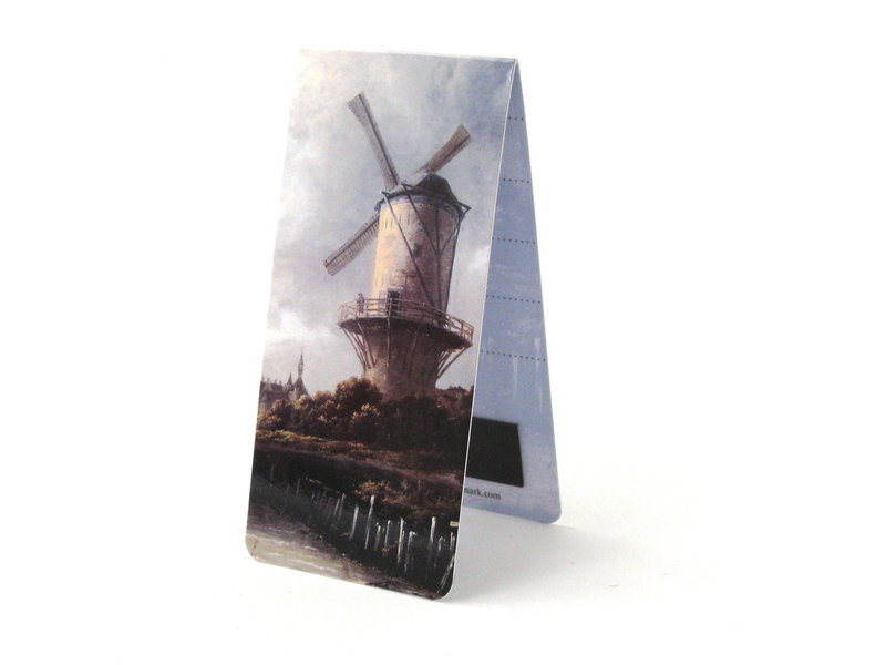 Magnetisches Lesezeichen, J. van Ruisdaal, Windmühle