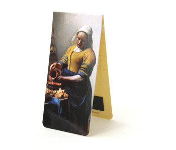 Magnetic Bookmark, Johannes Vermeer, The Milkmaid