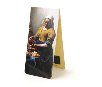 Marcapagina magnético,  La lechera, Vermeer
