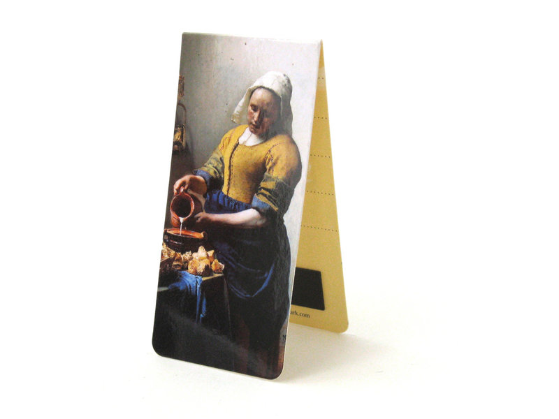 Magnetische boekenlegger, Het melkmeisje, Vermeer
