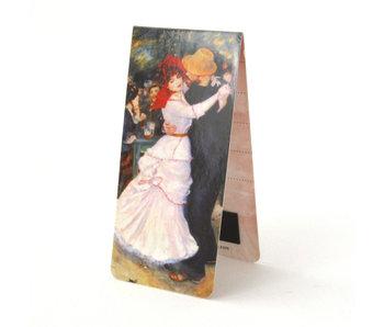 Magnetic Bookmark, Pierre Auguste Renoir, Dance