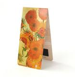 Marcapagina magnético, Van Gogh, girasoles