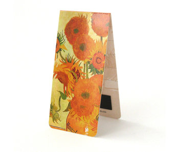 Magnetic Bookmark, Vincent van Gogh, Sunflowers