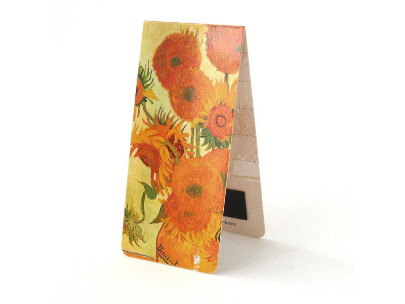Marque-page magnétique, Van Gogh, tournesols