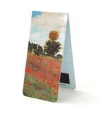Magnetische Boekenlegger, Claude Monet, Veld met klaprozen