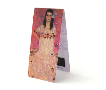 Magnetic Bookmark, Gustav Klimt, Girl