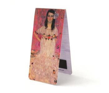 Marque-page magnétique, fille, Klimt