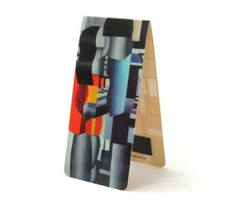 Magnetic Bookmark, Fernand Léger, Man and Woman
