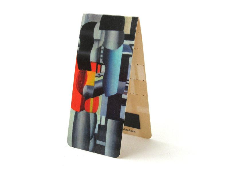 Marcador magnético, F. Léger, hombre y mujer