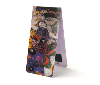 Magnetic Bookmark, Gustav Klimt, The Virgins