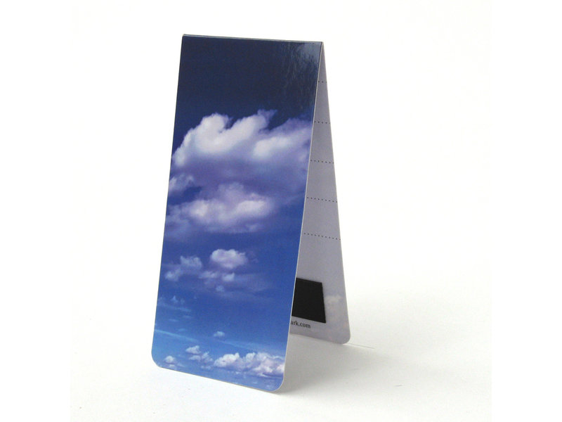 Magnetische Boekenlegger, Wolken