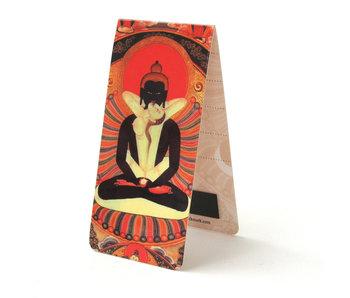 Magnetic Bookmark, Buddha / Illustration