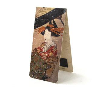 Magnetische Boekenlegger, Katsushika Hokusai, Courtisan