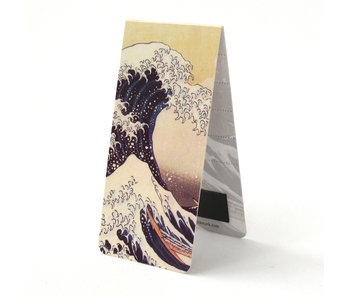Magnetic Bookmark, K. Hokusai, The Great Wave off Kanagawa
