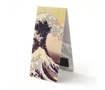 Marque-page magnétique, Hokusai, la grande vague