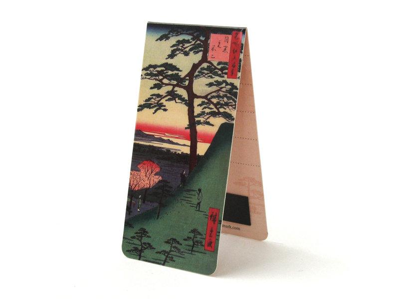 Marque-page magnétique, K. Hokusai, Arbre