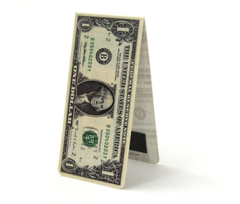 Magnetic Bookmark, One Dollar bill