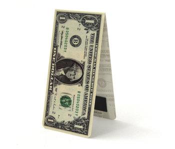 Marque-page magnétique, billet d'un dollar